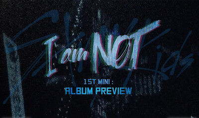 STRAY KIDS [I AM NOT] Album CD+POSTER+Photo Book+3p Card+Pre-Order+GIFT SEALED