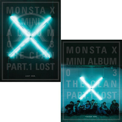 MONSTA X [THE CLAN 2.5 PART.1 LOST] 3rd Mini Album CD+PhotoBook+Card+GIFT SEALED