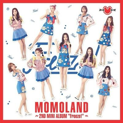 MOMOLAND [FREEZE] 2nd Mini Album CD+POSTER+Photo Book+2p Photo Card K-POP SEALED
