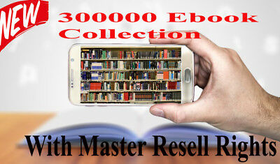 300000 PDF eBooks Package Collection With Master Resell Rights MRR PLR