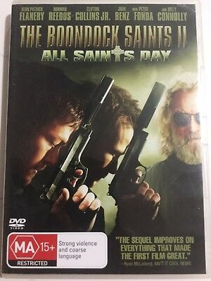 THE BOONDOCK SAINTS 2 ALL SAINTS DAY - DVD Region 4 - Billy Connolly
