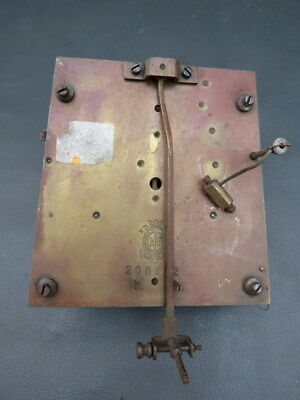 Vintage RG Freiburg Schlesien wall clock movement for spares or repair