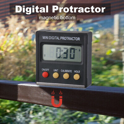 Mini Digital Inclinometer Level Box Protractor Bevel Gauge Accuracy 0.3° BI1306