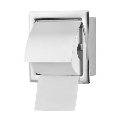 Wall Mounted Concealed Bathroom Roll Paper Box Waterproof Stainless Steel HS1155
