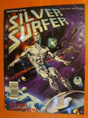 Silver Surfer N° 16. Stan Lee-John Buscema & Max Scheele.Sémic France Top BD