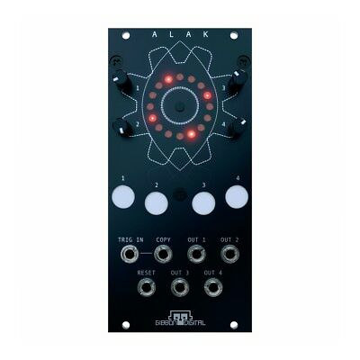 Gibbon Digital ALAK Eurorack Trigger Sequencer Module