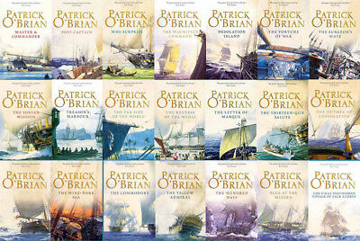 The AUBREY MATURIN Series By Patrick O'Brian (21 MP3 Audiobook Collection)
