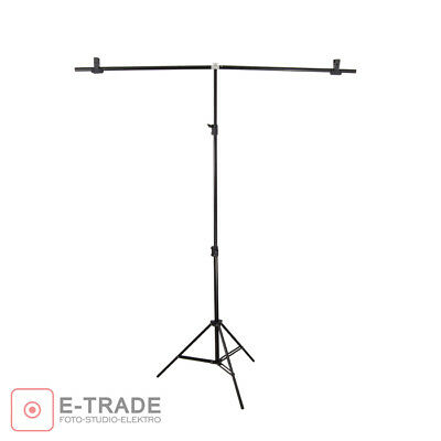 2*1.5m Adjustable Background Support Stand Photo Video Backdrop Kit Photography