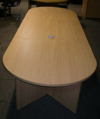 3000mm Boardroom Table, Conference Table, Meeting Table.Office Table, Beech