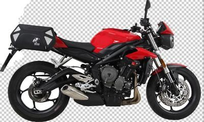 Triumph Street Triple 765 Panniers Hepco & Becker Royster With Full Fitting Kit