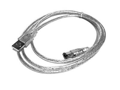 Usb Male To Ieee 1394 6 Pin Firewire Cable For Maxtor Onetouch Ii Firewire 800
