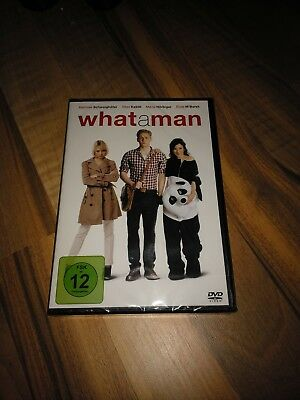 What a man - DVD - Neu & OVP