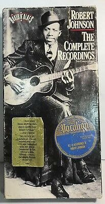Robert Johnson The Complete Recordings 2 CDs Boxed Set With Book 1990