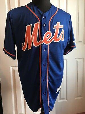 New York Mets Cool Base Majestic Jersey, Size M