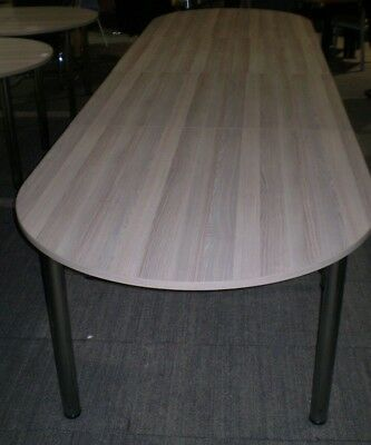 4200mm Boardroom Table, Conference Table, Meeting Table.Office Table,Grey Oak