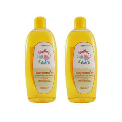 2 x Lloyds Pharmacy Baby Shampoo no tears 500ml