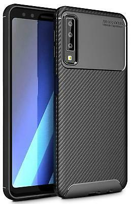 Carbon Brushed Case Samsung Galaxy S10 S10 Plus S10 Lite Thin Gel Silicone Cover