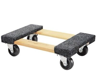 Moving Furniture Heavy Duty 18 In x 12 In. 1000 lb. Capacity Hardwood Dolly