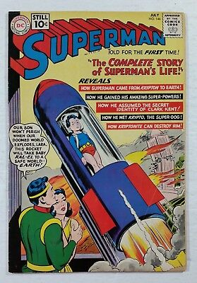 Superman #146 (1961) DC Comics 1st Series 1939 Pages Complete SUPER DEAL!!!