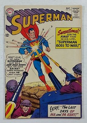 Superman #161 (1963) DC Comics 1st Series 1939 Pages Complete SUPER DEAL!!!