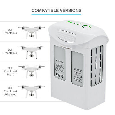 DJI Phantom 4 Serie Intelligent Flight Replacement Battery 5870mAh High Capacity