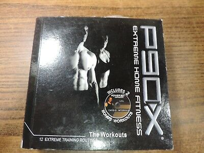 P90X DVD Complete Set 12 Disc Fitness Video