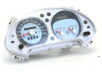 05 - 08 Piaggio Beverly 500 gauge cluster speedometer off running BV500 - Video