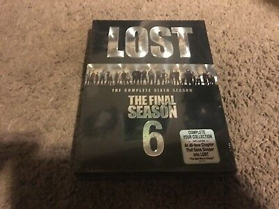 Lost: The Complete Sixth Season (DVD, 2010, 5-Disc Set) NEW