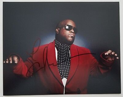 THE VOICE CEE LO GREEN SIGNED 8X10 PHOTO COA PROOF