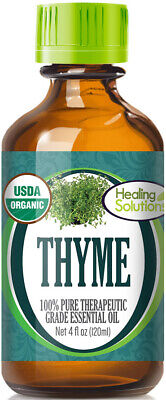 Organic Thyme Essential Oil (100% Pure - USDA Certified Organic)