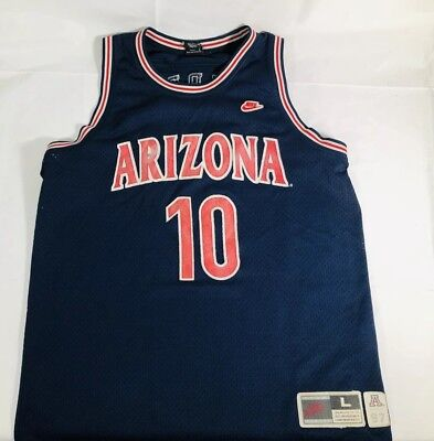 06907d66d3bb Vintage Nike Arizona Wildcats 1997 Mike Bibby Stitched Basketball Jersey  Men L