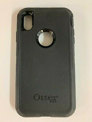 Otterbox Defender Series Case for Apple iPhone XS Max Black No Holster Clip