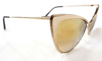 e408865666774 TOM FORD WOMEN S Sunglasses TF304 56-17-135 Gold MADE IN ITALY - New ...