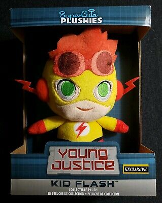 Funko Young Justice KID FLASH Super Cute Plushies Hot Topic Exclusive FREE SHIP