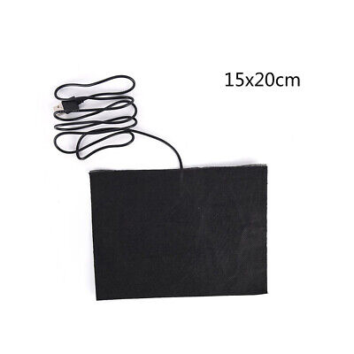 New 5V Electric Infrared Carbon Fiber Heating Pad Hand Warmer USB Heating Film
