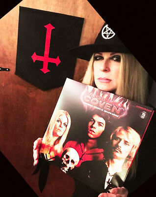 COVEN WITCHCRAFT vinyl,180 gram,1st Auth.Reissue - since 1969, hand signed Jinx