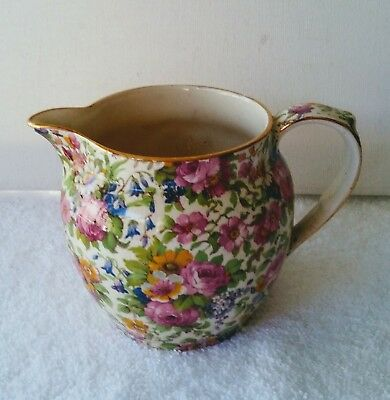 Royal Winton Creamer *Summertime* Wright Tyndale van Roden Inc. England 4 Inches