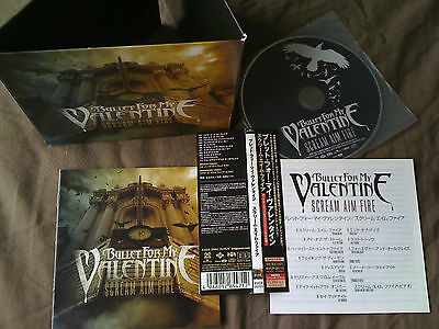 Bullet For My Valentine / Scream Aim Fire / Japan Ltd Cd Obi