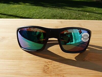 40d96c821b Costa Del Mar New 580G Cat Cay Polarized Sunglasses Black Frame   Copper  Lens