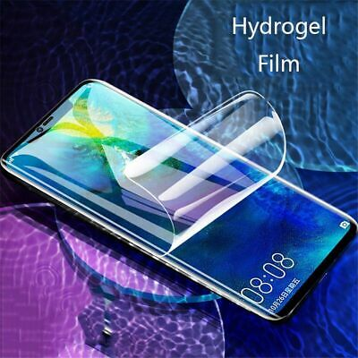 For Samsung S8 S9 S10 S10e Note 8 9 Plus E PET Soft Clear Screen Protector Film