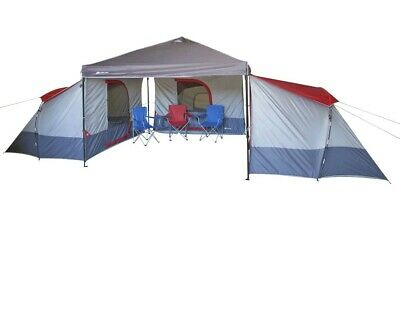 NEW Ozark Trail 4-Person ConnecTent for Canopy Outdoor Family Camping Tent