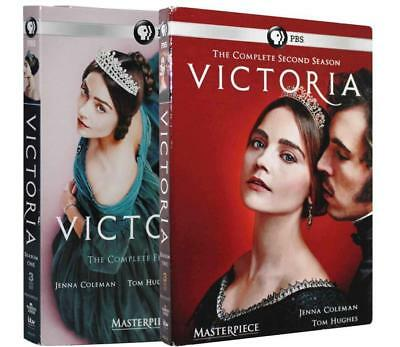 Victoria British Biography TV Series Complete Seasons 1 & 2 DVDs Set Collection