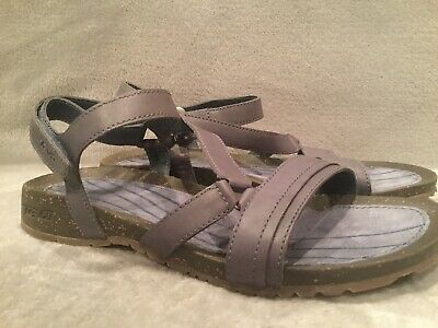 bea1cd578120 Teva Cabrillo Crossover Blue Casual Sandals Womens Size 8.5