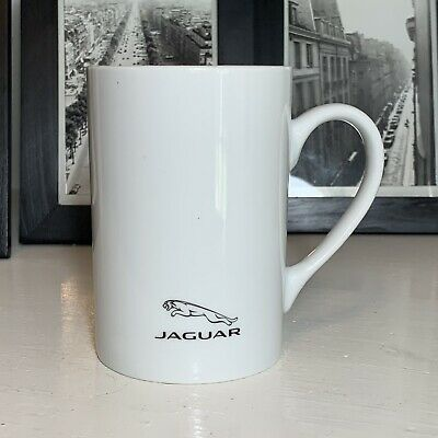 Vehicle Parts & Accessories Jaguar Collection Genuine Fine Bone China Leaper Logo Mug 50JRCORPMUG14 Other Branded Merchandise