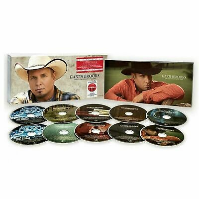 Garth Brooks The Ultimate Collection 10 Disc CD Box Set Factory Sealed
