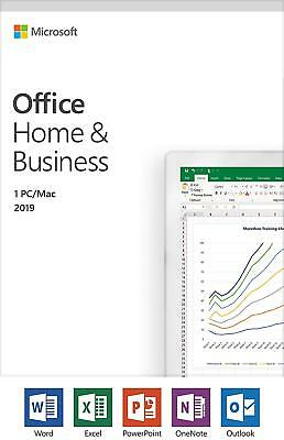 Microsoft Office 2019 Home & Business Product Key PC or Mac [Advanced Delivery]