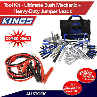 Adventure Kings Tool Kit - Ultimate Bush Mechanic + Adventure Kings Heavy-Duty J