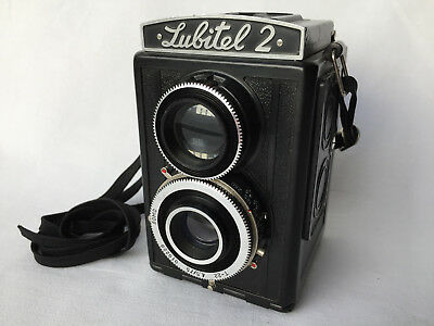 Lomo Lubitel 2 T - 22 4,5 / 75 010229 Nomo Device Analogue Vintage E203