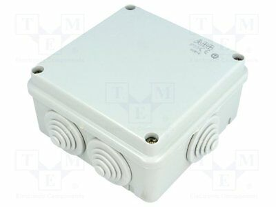 Enclosure: junction box; X:100mm; Y:100mm; Z:50mm; wall mount (1pcs)