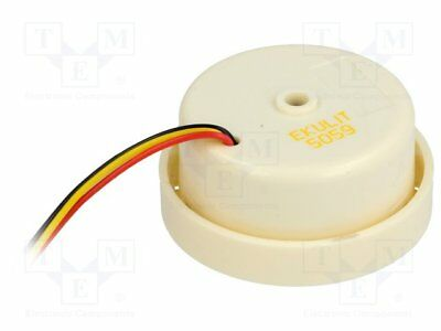 Sound transducer: piezo siren; -20÷60°C; 12VDC; ¨42x26mm[1 pcs]